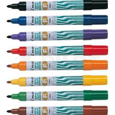 Plumon Pilot Permanente Oleo SCS 1mm  Colores