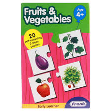 Didactico Puzzle Fruits & Vegetables