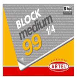 Block Dibujo Artel Medium 99 1/4 20hj