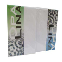 Papel Opalina Color Hilada Carta 200gr 100 hj