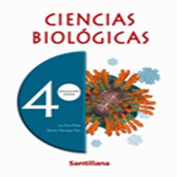 Texto Ed. Santillana Ciencias Biologicas 4 M Pack