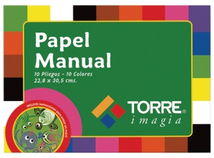 Carpeta Arte Torre Papel Manual 10 hj