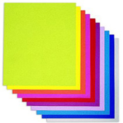 Papel Canson Pliego 50x65 160g. Colores