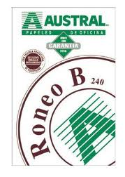 Papel Roneo B Caf� 641 Carta 500 hj