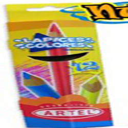 Lapiz Color Artel Triangular 12 Largo