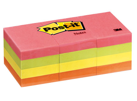 Post-it 3M 653 Ultra Ch. colores