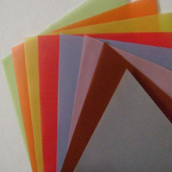 Carpeta Papel Diamante 12 Colores