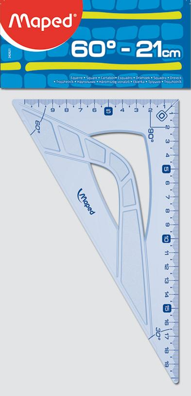 Escuadra Maped graphic 60� - 21cm.