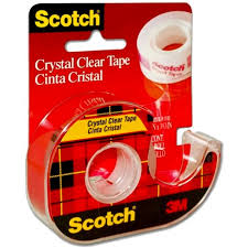 Scotch Cristal 3M 19x15 Mts con Dispensador y Rec.